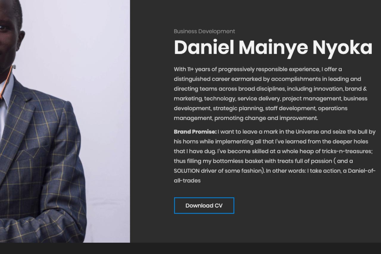 Daniel Mainye